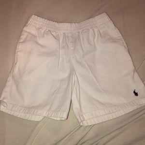 White Polo shorts